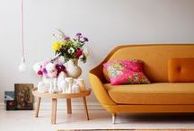 Apricot to Blood Orange | Color Inspiration / by Carmen @ The Decorating Diva, LLC