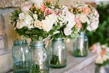 Flower Power | Inspiring Blooms / Flower arrangements from romantic roses to perky peonies and every other fabulous bloom in between. / by Carmen @ The Decorating Diva, LLC