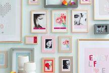 Gallery Walls | Artful Arrangements / by Carmen @ The Decorating Diva, LLC