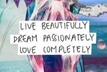 Inspirational Quotes / by Kristina Villamana