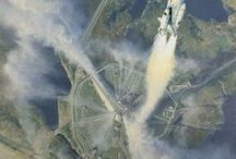 """FOR KATHY - 8/22/2014 / """"Houston, Tranquility Base here.  The Eagle has landed.""""  -- Neil Armstrong / by Lillian Loy"""