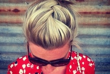 Hair / My go to guide when I need a quick easy hair do or just want to try something new / by Melanie Peire
