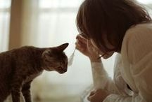 babes and cats. / by Coco Tardiff