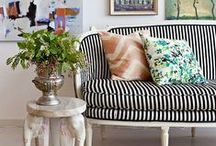 Living Rooms / A house that does not have one worn, comfy chair in it is soulless.  ~May Sarton  / by Linda Hutchinson