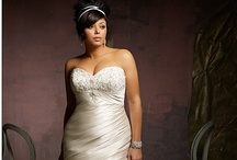 Bridal Gowns For Women With Curves / by The Personal Touch Wedding & Events