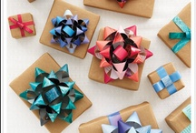 Gifts and Gift Wrap / by Kathleen Jones-Monte