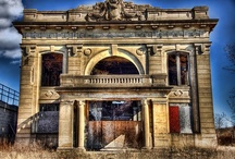 Abandoned / Haunted / I find so much beauty in the abandoned & intrigue in the haunted, sometimes they're one in the same.  / by Tiffany Scott-King