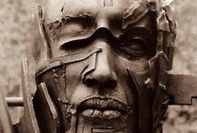 Stone. Sculptures. Steel. Wood. / by Tiffany Scott-King