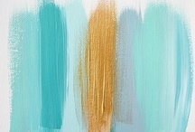 Paint Chips / Overflow from 'Feature This & Showcase That' just showing paint colors.  / by Karen Antush