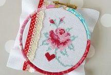 cross stitch / by Donatella De Finis