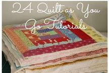 Blankets, Afghans, Quilts and Swaddles / by Angela Hayes