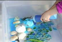 Sensory and Small World Play / by Fun at Home with Kids