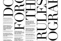 Typography / by Randi Larsen / Studio Larsen