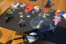 Decoration de table / Décoration de table avec un thème / by Caroline Gobert