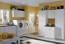 Laundry Room Cabinets / CliqStudios kitchen cabinets can be installed anywhere in your home! This board features cabinet ideas to add a modern spin to your existing laundry room. / by CliqStudios Cabinets