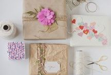 Packaging // Wrapping / by Jessica Tan