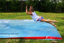 Outdoor Activities for Kids / Games to play with kids outdoors! / by True Aim Education