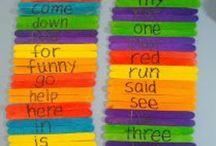 Literacy: Sight Word Work / by Sarah Graham