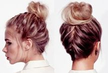 Hairstyle ideas for long hair / Celebrity and salon inspiration for long hair hairstyles from handbag.com / by Handbag.com