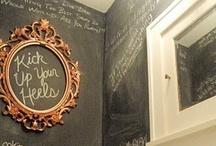Chalk Board Inspiration / by Royal Design Studio Stencils