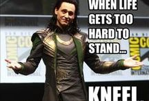 Loki - Thor's baby brother, so cool and so funny! / by Asako Kayumi