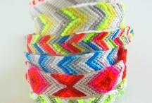 handmade bracelets  / My talent and hobby  / by Skye Lawson