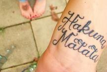 Tattoos / by Nikki Karbon