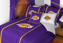 NBA Bedding Sets / Basketball bedding can be a great way to root for your favorite basketball team without having to be courtside at the game. Basketball fans young and old will love our selection of NBA comforters, drapes, pillows, and NBA microfiber sheet sets. / by Bedding.com