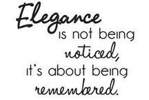 Elegance / by Samantha Romano