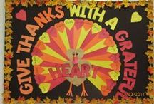 Fall/Thanksgiving Crafts / by Taylor Harrington
