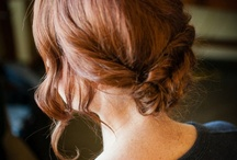 wedding hairstyle ideas / by Petra Guglielmetti