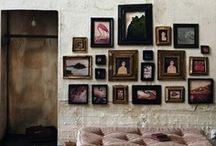 w a l l . d i s p l a y / Wall display: focal wall inspiration.  / by yvonne martine