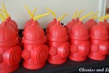 Fire Truck Theme Party / by Stampin' Dolce - Krista Frattin