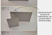 Card folds / by Stampin' Dolce - Krista Frattin