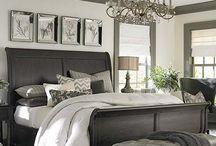 Master bedroom decor  / by Stampin' Dolce - Krista Frattin
