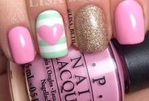 nail ideas and colors!! / by Jessica Nabor