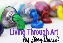 """""""Living Through Art"""" (all orders welcome!) / Crafts that are hand painted and/or hand drawn by myself. Shipping available.  Facebook page... https://www.facebook.com/#!/pages/Living-Through-Art-Personalized-creations-by-Stacy-Dennis/179522415446540 / by Stacy Gibson-Dennis"""