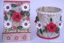 Recycling crafts / by Dr Sonia S V