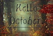 """""""October (Halloween)"""" / by Stacy Gibson-Dennis"""
