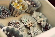 Stunning jewellery storage ideas / I have sooooo much jewellery and storing it so all my necklaces don't get into a tangled mess is a challenge!  I'm always looking for beautiful ways to display those lovely pieces, I think it's great to be able to enjoy them even when I'm not wearing them! / by Carolyn Waweru Jewellery