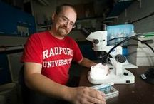 Science and Technology / Pins involving the College of Science and Technology at Radford University! / by Radford University