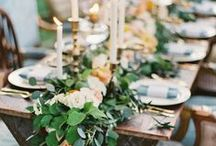 Tablescapes / by Kelly Hunt {Eat Yourself Skinny}