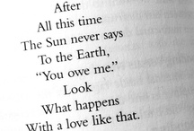 Words / by Clara Harding