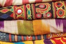 Textiles & fabrics / by Zabelou