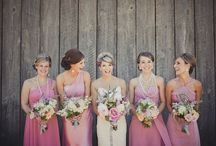 Bridesmaid Dresses - Summer Cocktail / Dressing 3 bridesmaids of different height, shape and colour - who are also spread all around the world...??? / by Daisy Betts