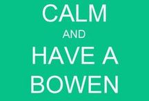 Bowen Therapy / Bowen Therapy, a holistic approach to rebalancing the whole person, relieving pain and inflammation. / by Judith A. Cahill