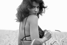 """Helena Christensen for Triumph Lingerie / HELENA CHRISTENSEN has made her first foray into design, creating her own lingerie collection in collaboration with Triumph - a move that she describes as """"very cool"""". / by TARTORA Lingerie"""