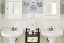 Home Life: Bathroom update / Home decor for the bathroom / by Sun & Sparrow Photography
