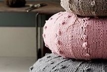 Crochet & Knitted Poufs / by Anabel Valls Schorr