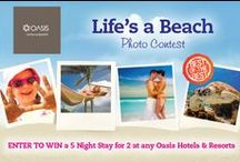 Contests, Giveaways & Fun / ENTER the latest contests and giveaways from Oasis Hotels and Resorts! Oasis Loves our fans..... :) / by Oasis Hotels and Resorts